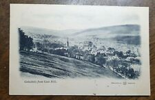 Galashiels from Gala Hill. Vintage Reliable Undivided Postcard