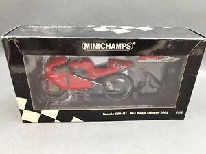 1:12..Minichamps--Yamaha YZR-M1 Max Biaggi MotoGP 2002 Marlboro Team / 5 O 982