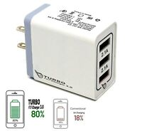 (3 ports) USB Fast Quick wall Charger (18W / 5V,9V,12V / 5A) for Android/iPhone