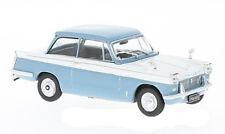 WHITEBOX WB119 - 1/43 TRIUMPH HERALD 1959 LIGHT BLUE/WHITE DIECAST MODEL