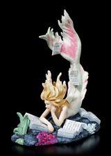 Sirenas Figura LEYENDO Viejo Escritura - Lost Libros - T. toland-scott NINFA