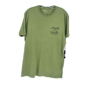 Troy Lee Designs Mens Short Sleeve Nationals T Shirt Size L Loden Green New