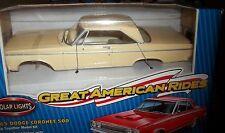 POLAR LIGHTS 1965 DODGE CORONET TAN HARDTOP 1/25 Model Car Mountain KIT FS