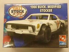 Amt 1/25 1966 Buick Modified Stocker Street Stock & Strip Model Kit # 38534 Rare
