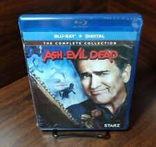 Ash vs Evil Dead The Complete Collection (Blu-ray + Hd Digital)New-Free Shipping