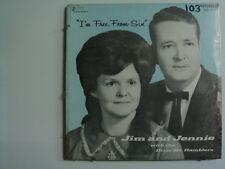 JIM & JENNIE DIXIE MT. RAMBLERS I'm Free From Sin RARE GOSPEL LP SEALED JESSUP