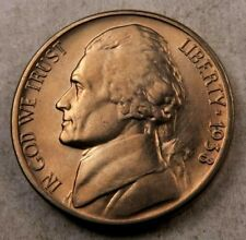 (1) 1938-S Jefferson Nickel // Uncirculated // 1 Coin