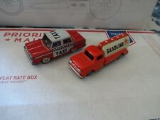 Vintage Friction Litho Caltex Tanker Japan & taxi cab China great condition