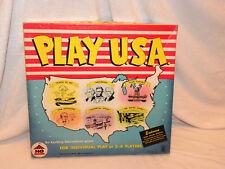 Play U.S.A. American History Game Harett-Gilmar 1940's Complete Original
