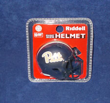 "Pittsburgh Panthers NAVY NCAA SPEED Football Riddell 2""x2.5"" Pocket Pro Helmet"