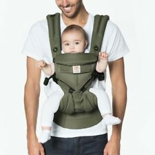 Ergo Baby OMNI 360 Cool Air Mesh Newborn Infant  Baby Carrier Khaki Green