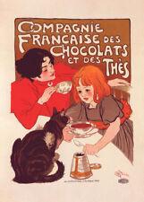 Chocolat Compagnie Francaise - Theophile Stenlein 90cm x 64cm Art Paper Print