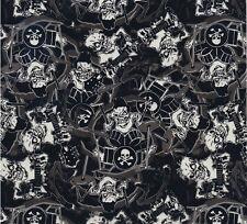 Wassertransferdruck Folie Horror Musik - 100cm breit