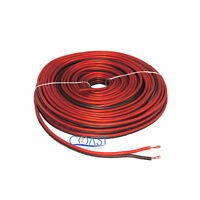 Red/ Black 50 Ft True 16 Gauge AWG Car Home Audio Speaker Wire Cable BPES16.50