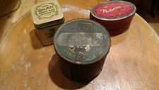 Patterson tuxedo and John Middleton vintage tin tobacco containers