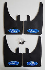 NEW FORD Mudflaps + Fittings FULL SET OF 4 Universal Fit