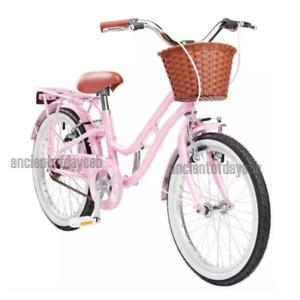 "Women's Petal 18 inch Wheel Size Kids Heritage Bike Bicycle 11"" Frame Durable"