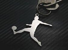 FOOTBALLER MALE Football Player Footy Soccer League Game Keyring Keychain
