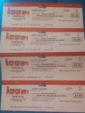 4 Enfagrow Checks (2 $5 Checks & 2 $3 Checks)