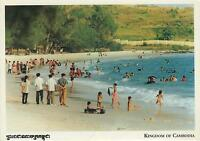 Sihanouk Ville Beach POSTCARD - Kingdom of Cambodia Kampongsoam POSTCARD - NEW