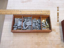 Kingsley Machine ( Spacers Lot With Tray  ) Hot Foil Stamping Machine