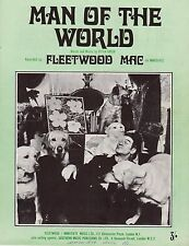 Fleetwood Mac-Man Of The World-1969 Sheet Music-Original UK-Immediate Music-Rare