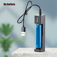 USB LCD Smart Battery Charger For 18650 Rechargeable Li-Ion Battery Universal 1*