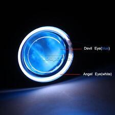 LED Halo Projector Headlight Angel Devil Eye for Honda CBR 250R 900 929 954 RR