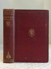 MASTERS OF LITERATURE: THACKERAY By G.K. Chesterton - 1909 1st ed.