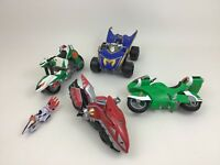 Power Rangers Lot 5pcs Mighty Morphin Toy ATV Motorcycle Vehicle Bandai Saban A7