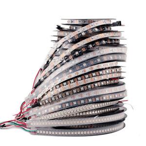 WS2812B 5050 RGB LED Strip 30/60/144LEDs/M Individual Addressable IC DC5V