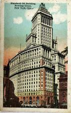 Standard Oil Building, Bowling Green, New York City NY 1929 Postcard