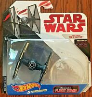 Disney Hot Wheels Starships Collectible Star Wars First Order Tie Fighter NEW