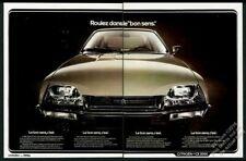 1977 Citroen CX 2000 car color photo vintage French print ad