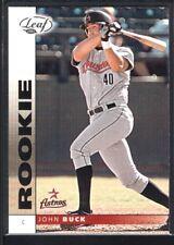 JOHN BUCK 2002 LEAF #197 RC ROOKIE CARD ASTROS SP MINT