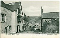 WEST LOOE ,THE STREET-CORNWALL- PP-POSTCARD,POSTED.1908.dc168