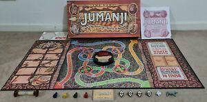 JUMANJI THE GAME BOARD GAME MILTON BRADLEY 1995