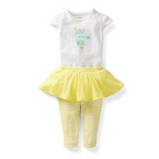 Carter's Baby Girl Love You More Bodysuit and Tutu Leggings - 6 mo-FREE SHIPPING