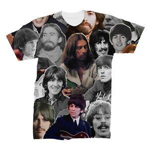 George Harrison Photo Collage T-Shirt
