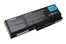 BATTERIE pc portable 4400mAh noir pour TOSHIBA Satellite PABAS101, PA3536U-1BRS