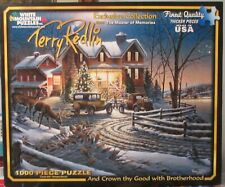 AND CROWN THY GOOD WITH BROTHERHOOD BY TERRY REDLIN - Complete -  PUZZLE