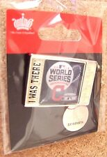 2016 Cleveland Indians WS World Series ticket style I Was There lapel pin MLB