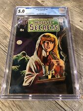 House of Secrets #92 (1971) CGC 5.0 - 1st Appearance Swamp Thing DC. BEAUTIFUL!