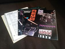 Vintage Remo Drum Catalog Lot RotoToms