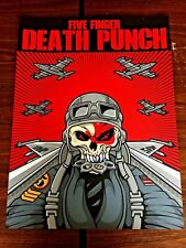 Five Finger Death Punch sold out artist print. #4 of 160.
