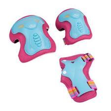 Hudora 83317 Protector Set Skate Wonders, Size:S, turquoise/pink
