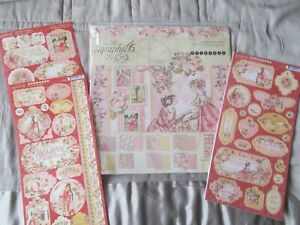 Graphic 45- Princess Collection bundle kit - 12 x 12 collection pack & chipboard