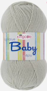 100g Big Value Baby 4-Ply Yarn by King Cole - Flat Rate £3.20 Post any No. Balls