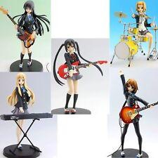 K-ON! ! SQ Figure 5pcs set Yui/Mio/Ritsu/Tsumugi/Azusa Free Shipping w/Tracking#