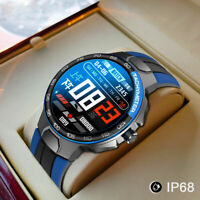 Smart Watch Men Women IP68 Waterproof BT- 5.0 Heart Rate Monitoring for Android